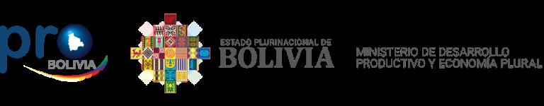 Logotipo PROBOLIVIA y Ministerio